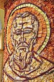 Mosaico bizantino de um santo apóstolo — Foto Stock