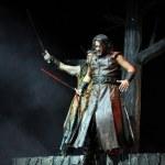Постер, плакат: Hungarian rock opera costume play Stephen the king live on stage
