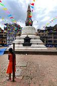 Stupa in Kathmandu, Nepal — Stock fotografie