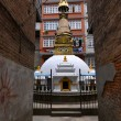 Small Buddhist stupa in Kathmandu, Nepal — Stock Photo #34317919
