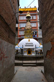 Small Buddhist stupa in Kathmandu, Nepal — Stock Photo