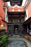 Buddhist temple in Patan, Nepal — Stock Photo