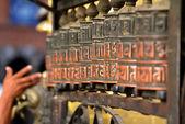 Prayer wheels — Stock Photo