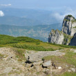 Ceahlau massif, Eastern Carpathians, Moldova, Romania — Stock Photo