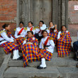 Nepalese Military Orchestra — Stock Photo