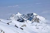 Ski slopes in the Alps. Kitzsteinhorn, Austria — Stock Photo