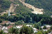 Rosia Montana, Romania. The village is in danger to disappear due to gold mining exploitation — Stock Photo