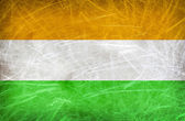Hindistan bayrağı. vintage kartpostal — Zdjęcie stockowe