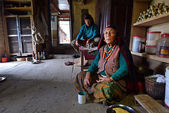 Nepalese Gurung woman — Stock Photo