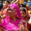 Nepalese people celebrating Dasain festival in Kathmandu, Ne — ストック写真 #37429971
