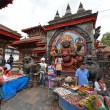 Nepalese people celebrating Dasain festival in Kathmandu, Ne — ストック写真 #37430025