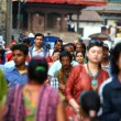 Photo: Crowded streets of Kathmandu, Nepal