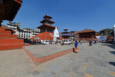 The Durbar square in Kathmandu, Nepal — Stock Photo