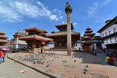 The Durbar square in Kathmandu, Nepal — Stock Photo