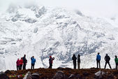 Annapurna Base Camp, Nepal — Stock Photo