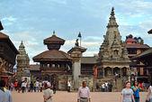 Bhaktapur Durbar square, Nepal — 图库照片