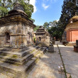 Stock Photo: Row of sacred Hindu temples in Pashupatinath, Nepal