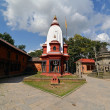 Stock Photo: Sacred Hindu temple in Pashupatinath, Nepal