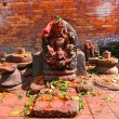 Sculpture of Shiva in Pashupatinath, Nepal — Stock Photo