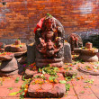 Stock Photo: Sculpture of Shiva in Pashupatinath, Nepal