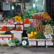 Stock Photo: Fruit seller in Hanoi, Vietnam