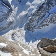 Stock Photo: Avalanche valley