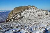 Montagne couverte de neige — Photo