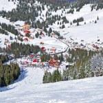 Ski resort in the mountains — Stock Photo #41017839