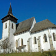 Stock Photo: Protestant church in Sintereag (Somkerek). Transylvania, Romania