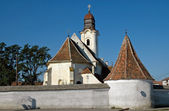 Armenian catholic church in Gheorgheni, Romania — Foto Stock