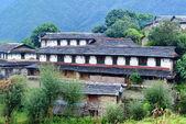 Traditional stone house in Ghandruk, Nepal — Stock Photo