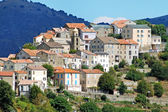 Riventosa village, Corsica — Stock Photo