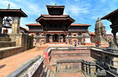 Hindu temple in Bhaktapur, Nepal — Stock Photo