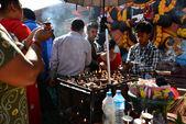 Hindu ceremony in Kathmandu, Nepal — Stock Photo