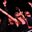 Partying people during a live concert — Stock Photo #48600881
