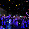 Partying people during a live concert — Stock Photo #48600891