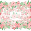 Abstract floral background — Stock Vector #40412597