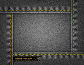 джинсовая фон — Cтоковый вектор