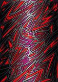 Abstracte achtergrond in graffiti stijl — Stockvector