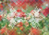 Fondo de mosaico abstracto — Vector de stock
