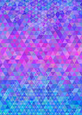 Abstract colorful triangle background — Stock Vector