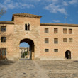 Stock Photo: Monastery of Poblet