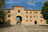 Monastery of Poblet — Stockfoto