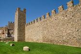 Walls of Montblanc — Stock Photo