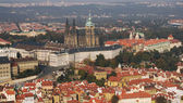 Castle and Cathedral of Prague — Stock Photo