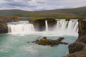 Waterfall Godafoss — Stock Photo