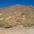 Mount Teide and its cable car — Stock Photo #18213457