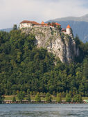 Bled Castle — Stock Photo