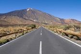 Road to Mount Teide — Stock Photo