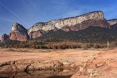 Tavertet Cliffs — Stock Photo
